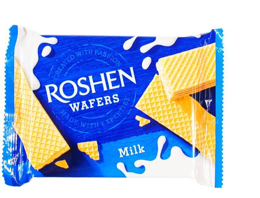 Roshen wafers wafelki mleczne MILK 72g