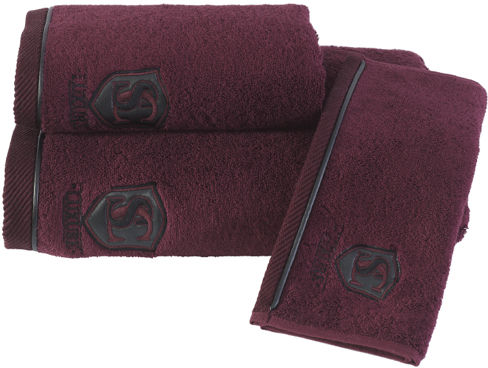 Mały ręcznik LUXURY 32x50cm Bordowy