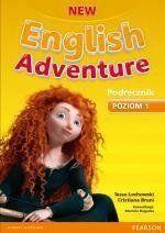 New English Adventure 1 Podręcznik z płytą DVD - Tessa Lochowski, Cristiana Bruni