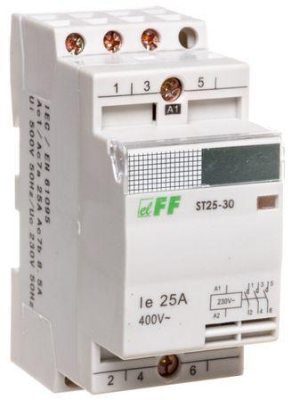 Stycznik modułowy 25A 3Z 0R 230V AC ST25-30