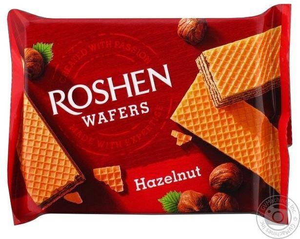 Roshen wafers wafelki orzechowe 72g