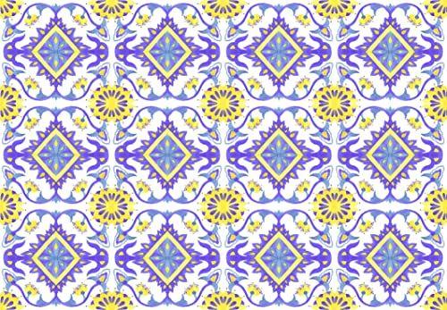 Tape Design Z262 Zerbello, poliester, wielokolorowy, 75 x 52 x 1 cm