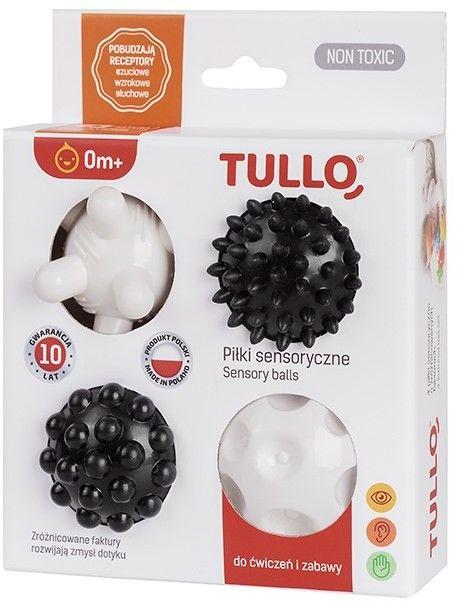 Zestaw sensoryczny piłki Tullo /4szt/ art.461