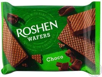 Roshen wafers wafelki czekoladowe 72g