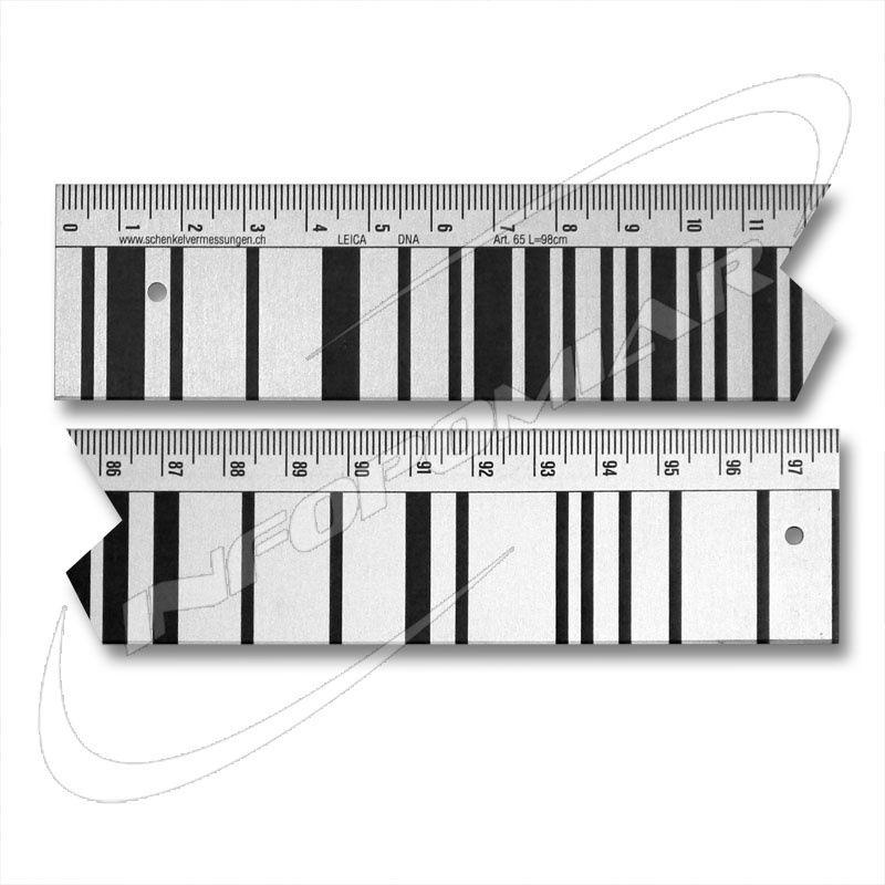 Łata kodowa do DNA. Aluminiowa 1m GOECKE