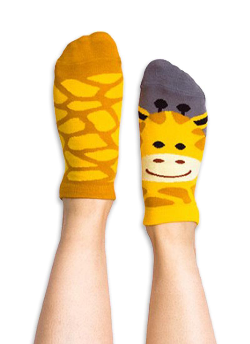Stopki kolorowe żyrafa Gigi Giraffe low