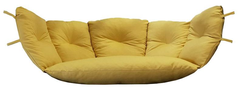 Poduszka hamakowa duża, musztardowy Poducha Swing Chair Double (M)