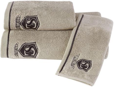 Ręcznik LUXURY 50x100 cm Beżowy