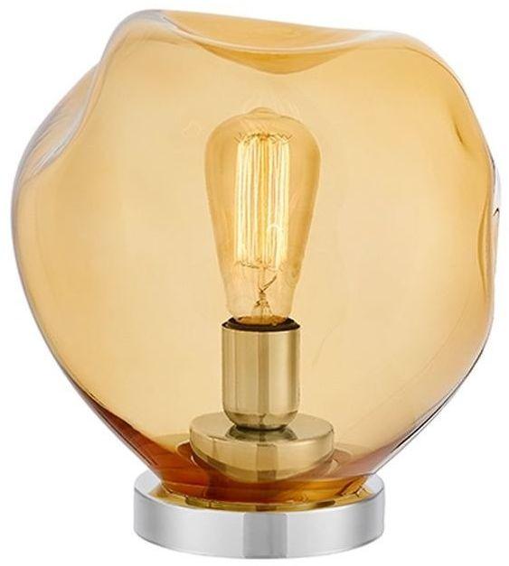 Kaspa - lampa stołowa avia - pomarańczowa