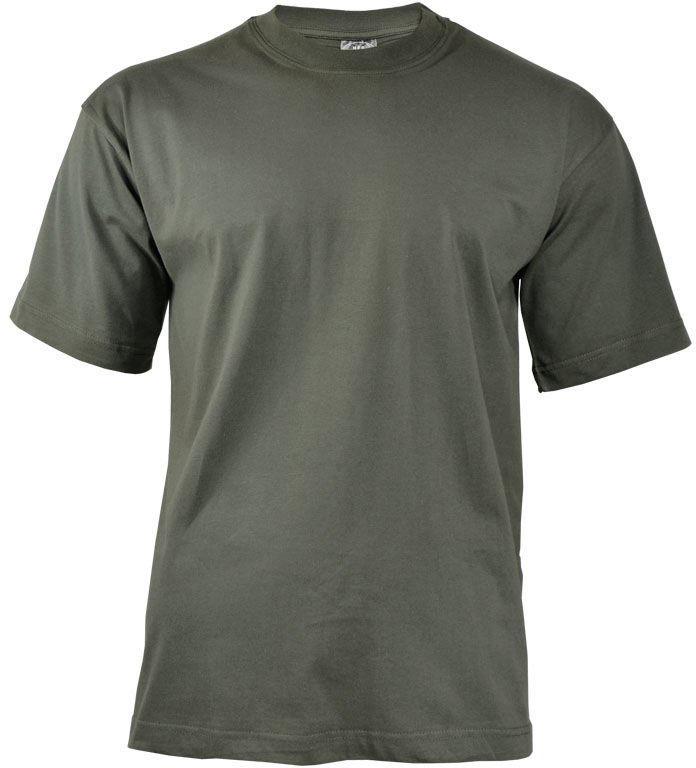 Koszulka T-shirt MFH Foliage Green (00103D)
