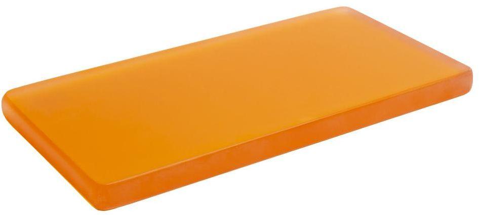 Talerz prezentacyjny pomarańczowy