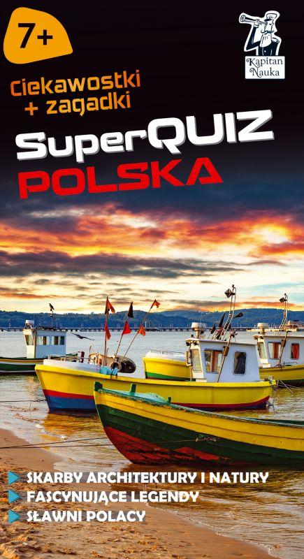 Kapitan Nauka SuperQuiz Polska ZAKŁADKA DO KSIĄŻEK GRATIS DO KAŻDEGO ZAMÓWIENIA