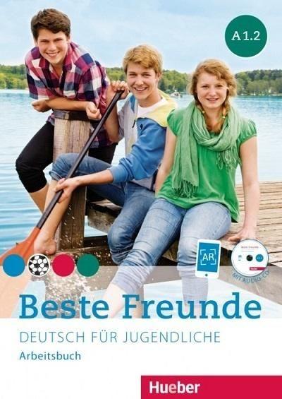 Beste Freunde A1.2 AB + CD w.niemiecka HUEBER ZAKŁADKA DO KSIĄŻEK GRATIS DO KAŻDEGO ZAMÓWIENIA