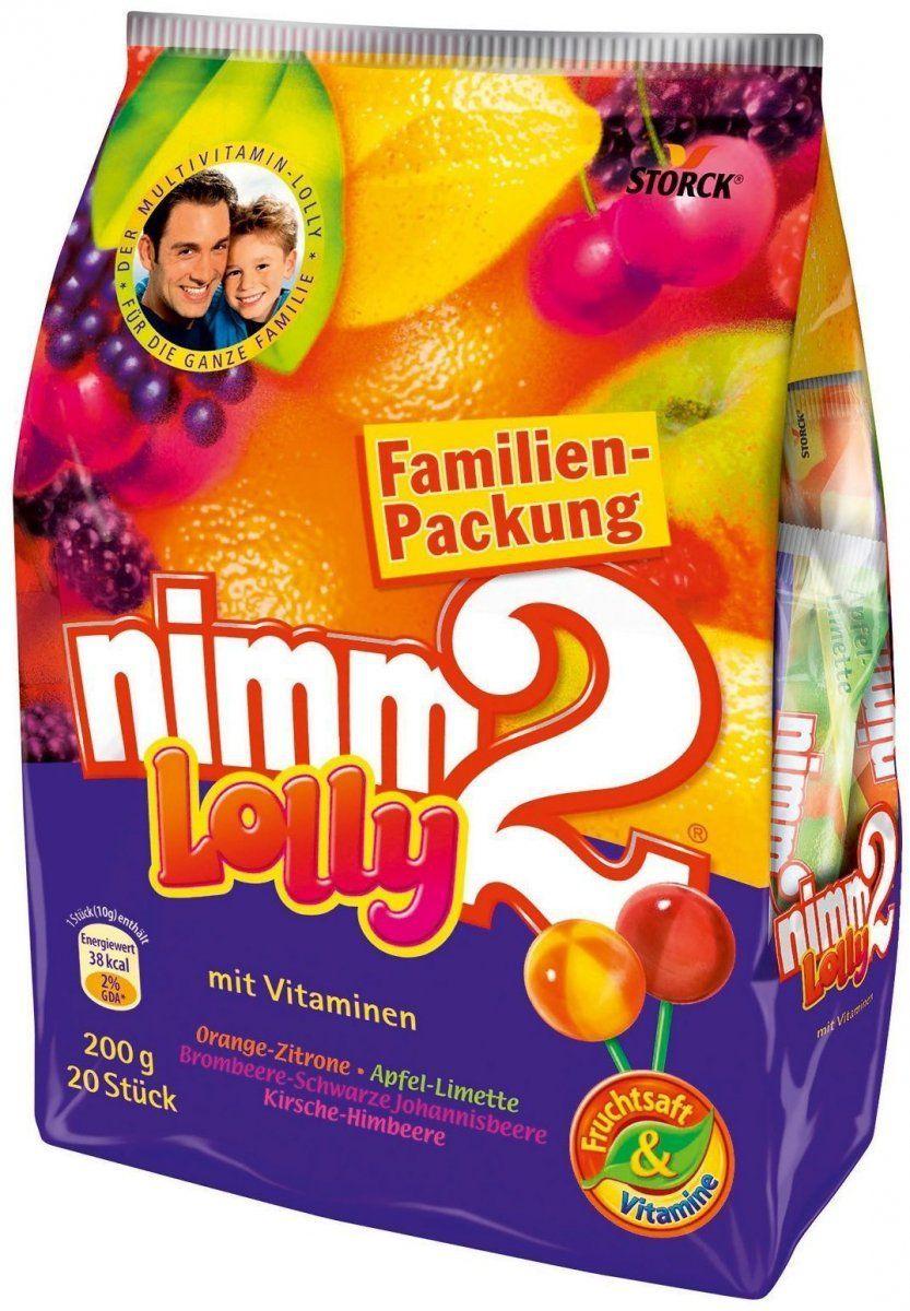 Nimm2 Lolly Lizaki Z Wit. Mega Paka 20szt