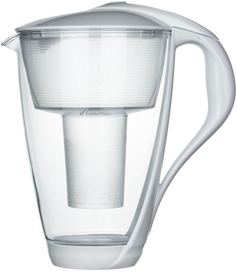Dzbanek Dafi szklany CRYSTAL 2,0 L LED + 1 wkład