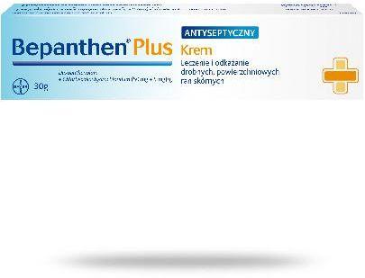 Bepanthen Plus (50 mg + 5 mg)/ g krem antyseptyczny na leczenie drobnych ran 30 g