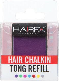 Hairfx London Kreda Do Włosów - Purple Passion, 4g