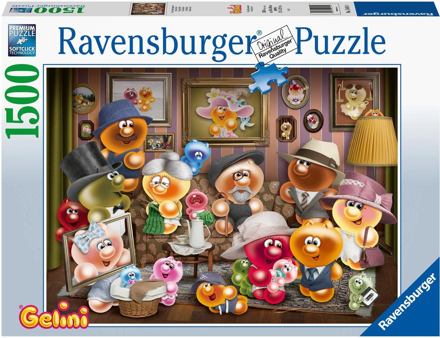 Ravensburger Puzzle 15014 - Gelini portret rodzinny - 1500 części