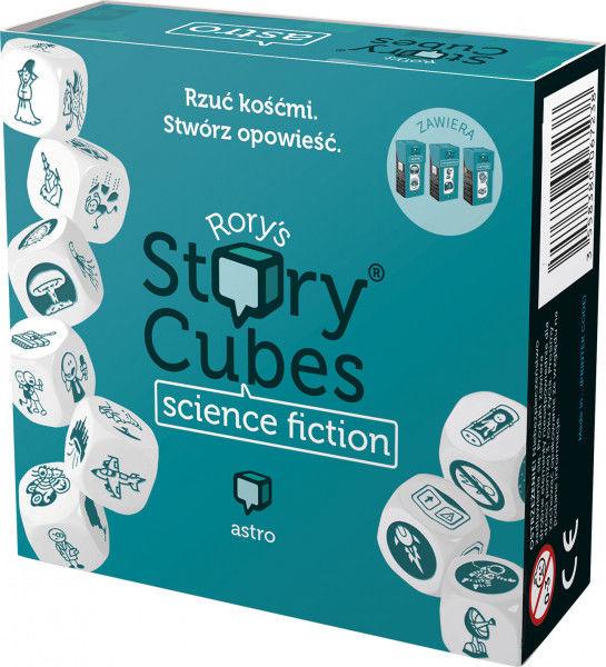 Story Cubes: Science Fiction ZAKŁADKA DO KSIĄŻEK GRATIS DO KAŻDEGO ZAMÓWIENIA