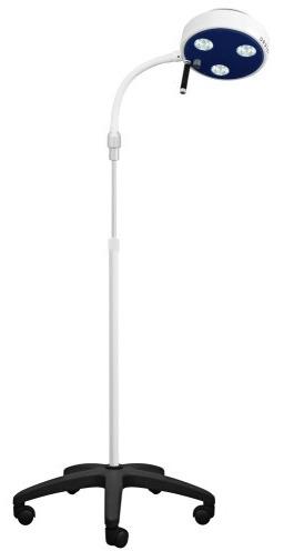 Lampa Badawczo-Zabiegowa FLH-D3 LED ze statywem na pięciu kółkach (z gęsią szyją, bezcieniowa)
