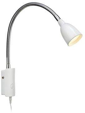 Kinkiet Tulip LED 105939 Markslojd biały kinkiet do czytania
