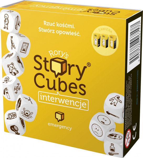 Story Cubes: Interwencje ZAKŁADKA DO KSIĄŻEK GRATIS DO KAŻDEGO ZAMÓWIENIA