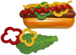 Beluga Spielwaren GmbH 30883 - Fresh & Yummy Food Bag Hot Dog