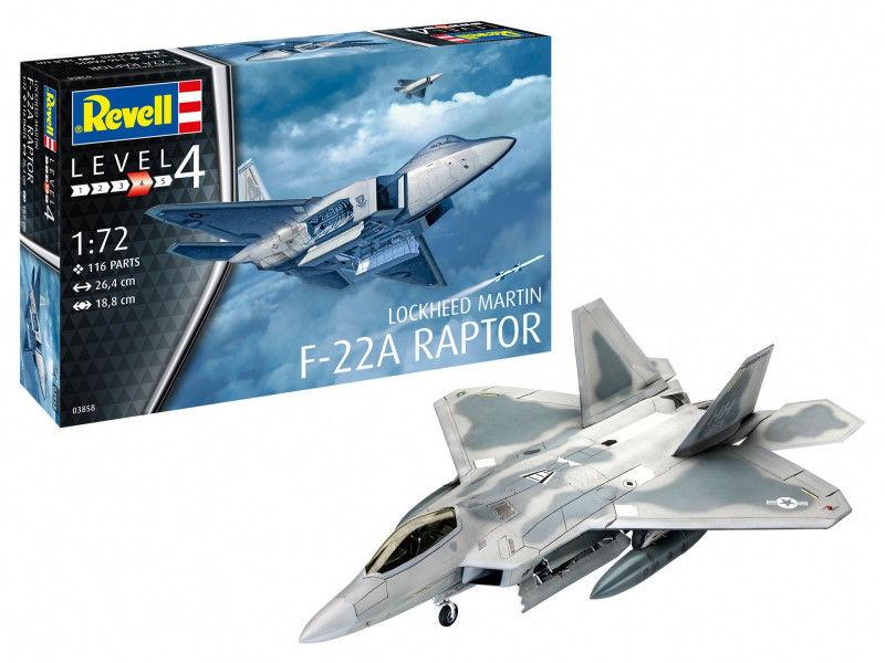 Model do sklejania Lockheed Martin F-22A Raptor