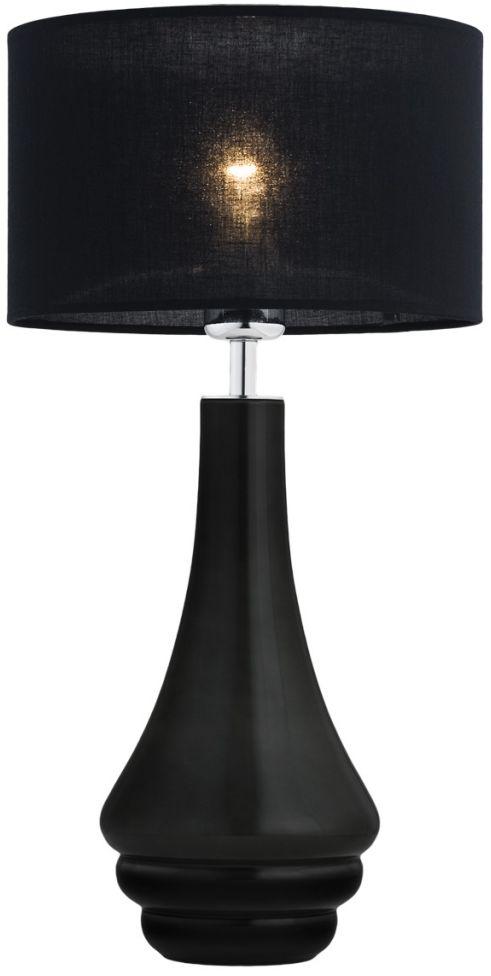 Lampa stołowa Amazonka 3033 Argon nowoczesna oprawa w kolorze czarnym