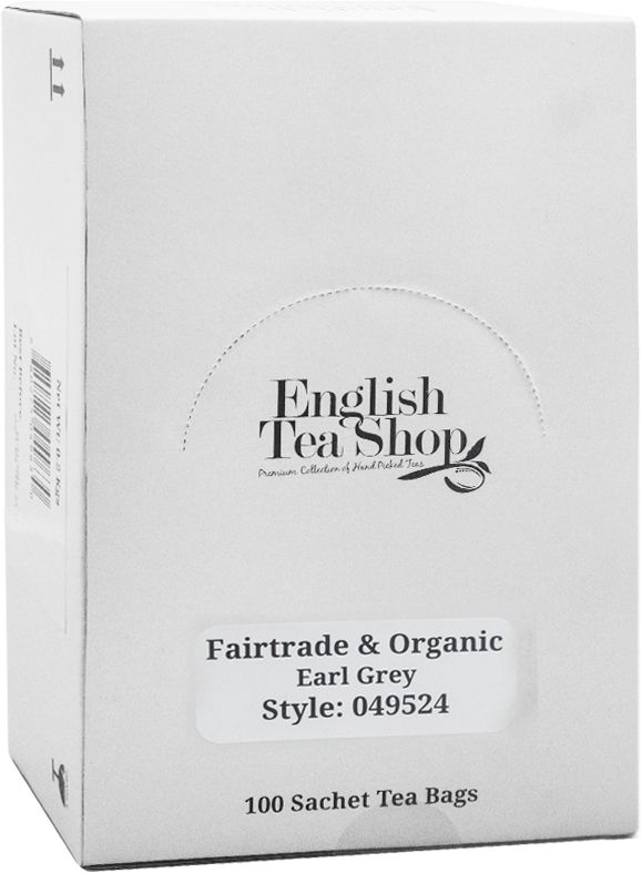 ETS Fairtrade Organic Earl Grey 100 saszetek