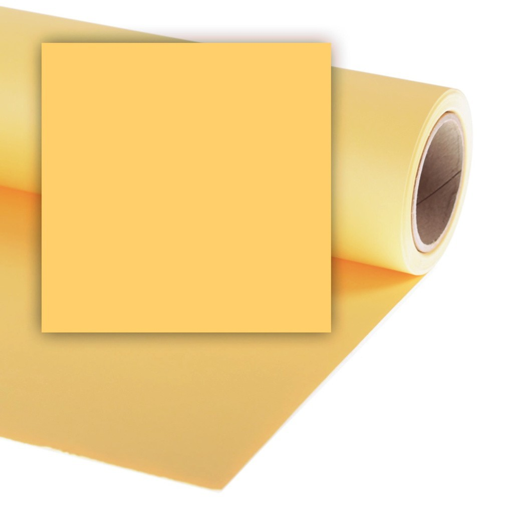 Colorama CO531 Maize - tło fotograficzne 1,35m x 11m