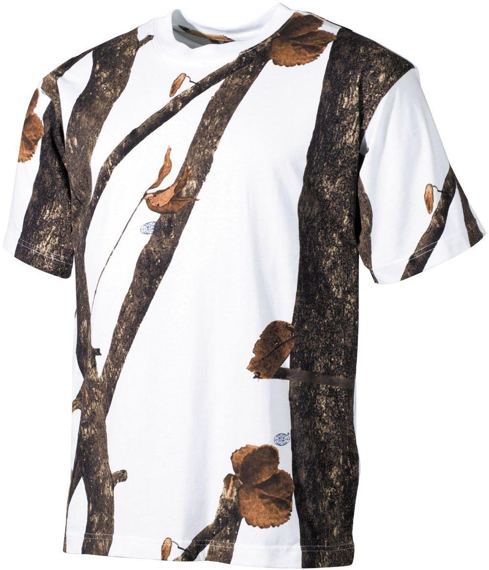 Koszulka T-shirt MFH Hunter-Snow (00105E)