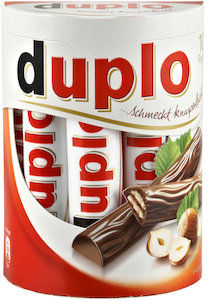 Batoniki Ferrero Duplo Mleczna Czekolada 10SZT.
