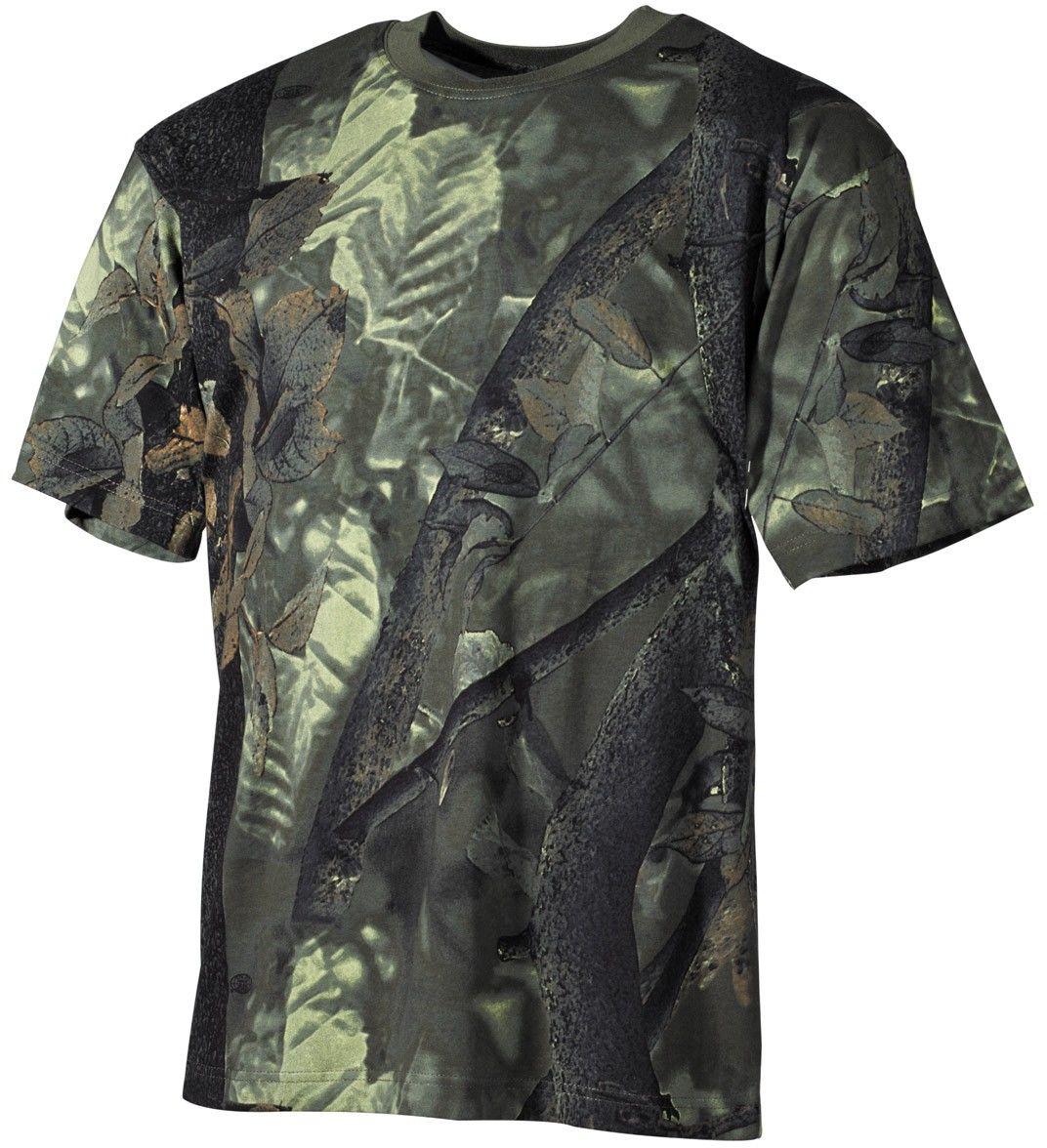 Koszulka T-shirt MFH Hunter-Green (00105A)