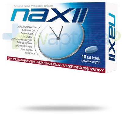 Naxii 20 tabletek powlekanych [Boloxen]