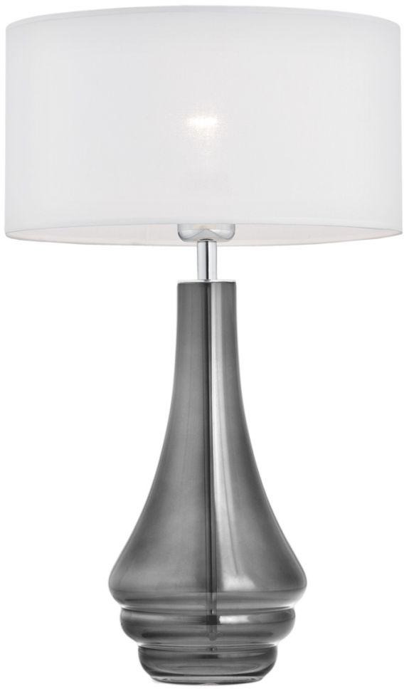 Lampa stołowa Amazonka 3035 Argon nowoczesna oprawa w kolorze dymnym