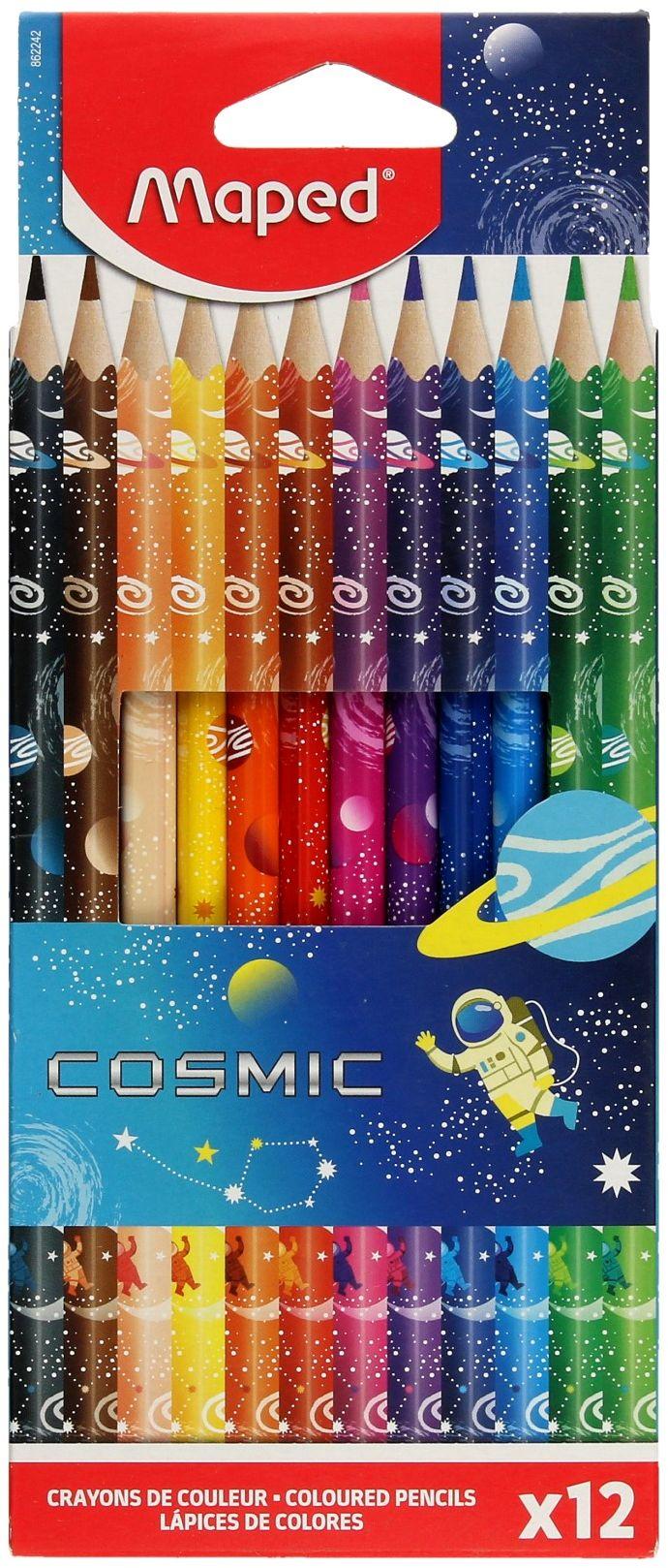 Kredki ołówkowe 12kol Cosmic Maped 862242