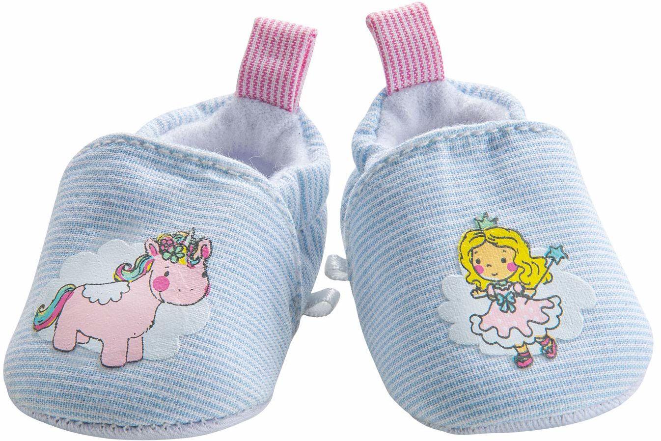 Heless 9441 buty dla lalek, jednorożec Emil i Fee Emma, rozmiar 30-34 cm