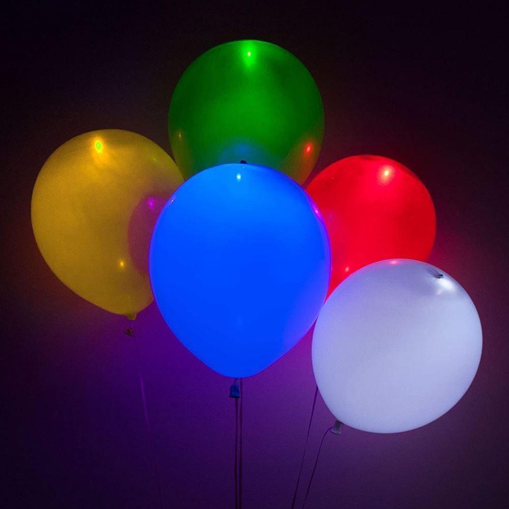 Świecące balony LED