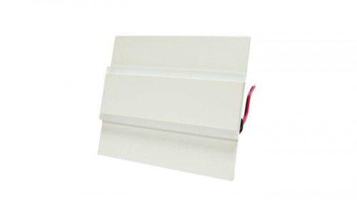 Oprawa schodowa 1,2W 12V biała ciepła Keiro biała