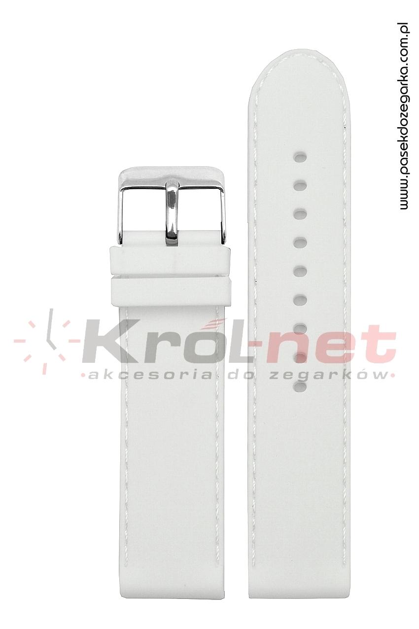 Pasek RP054B/20 - gładki, biały