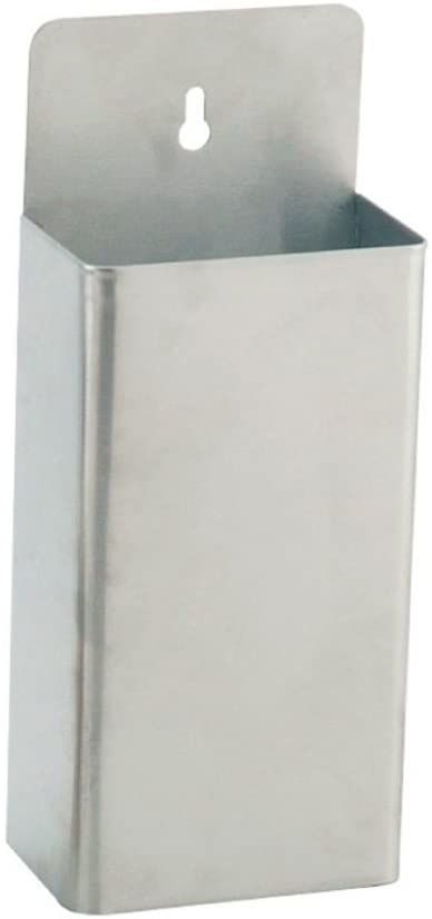 Pojemnik na korek 13,5 x 8 x 33 cm srebrna stal - 1 jednostka