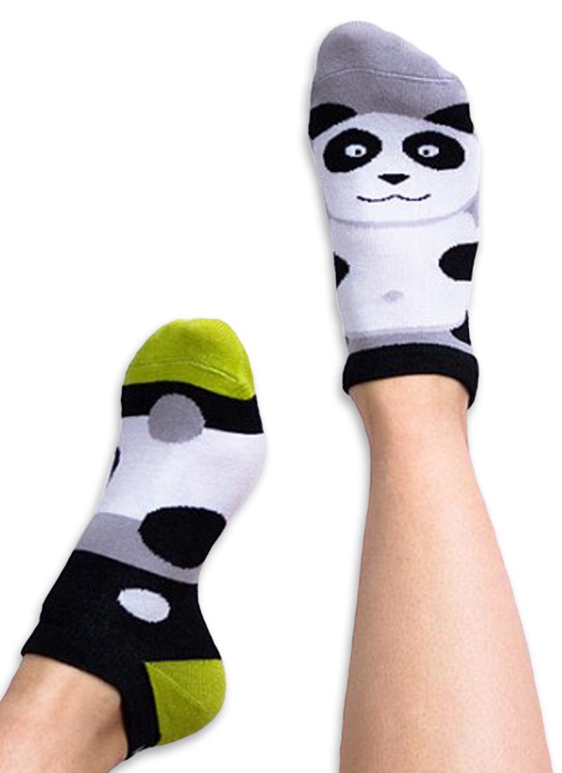 Stopki kolorowe panda - Lazy Panda low