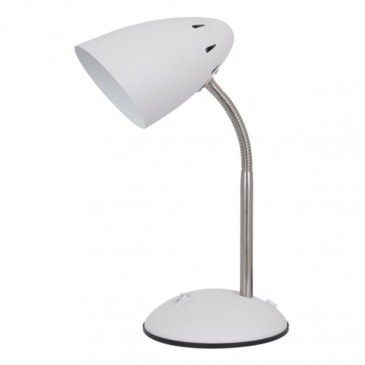 Lampa biurkowa Cosmic MT-HN2013-WH+S.NICK biała lampka na biurko