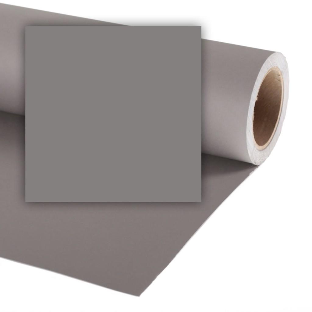 Colorama CO539 Smoke grey - tło fotograficzne 1,35m x 11m