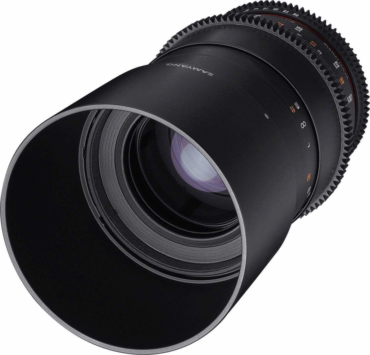 Samyang obiektyw do Sony E 100 mm Macro T3.1 VDSLR czarny
