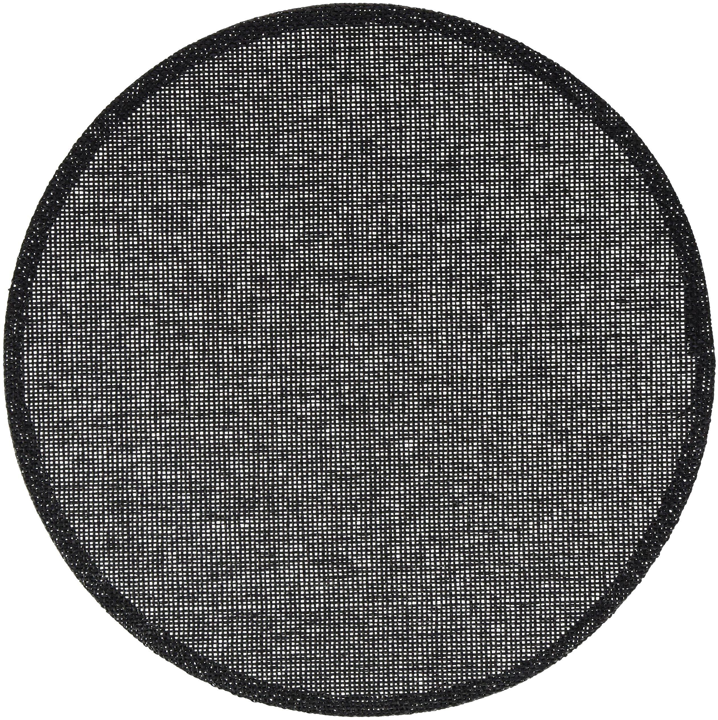 Calitex - Zestaw podkładek na stół z bambusa, czarny, 38 x 38 cm