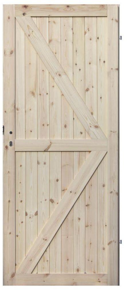 Skrzydło drzwiowe drewniane LOFT II 90 Prawe RADEX