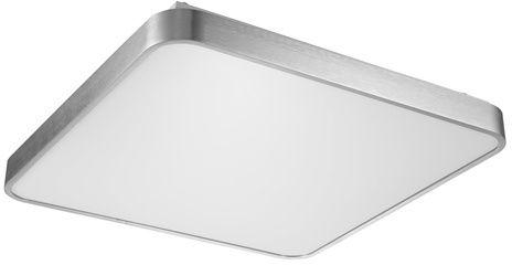 Lampa sufitowa plafon SIERRA LED 40W szer. 40cm srebrny