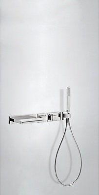 Block System Tres zestaw wannowo-natryskowy z baterią termostatyczną podtynkową - 207.192.01